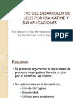 EL IMPACTO DEL DESARROLLO DE HIDROGELES POR ISSA.pptx