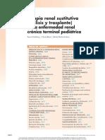 Capitulo 76 Terapia Renal Sustitutiva en La Erc en Niños