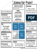 science fair template