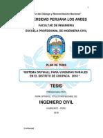 """""""Sistema Drywall Para Viviendas Rurales en El Distrito de Chupaca 2018 """"."""