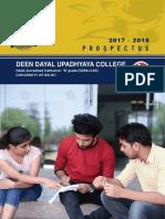 2018 Undergraduate Prospectus