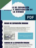 Áreas de Expansión Urbana y Zonificación de La