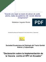 Consenso Ecuatorian V1