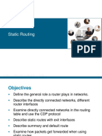 3- Static Routing and Default Routes