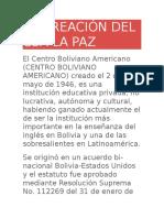 LA CREACIÓN DEL CBA LA PAZ.docx