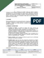 TH-Pr13 Procedimiento Para Reporte e Investigación de Accidentes e Incidentes de Trabajo y Enfermedad Laboral v2