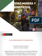 LA ACTIVIDAD MINERA Y SUS BENEFICIOS PONENCIA TRUJILLO.pptx