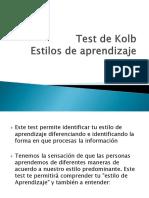 Test de Kolb