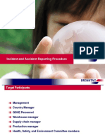 Brenntag Incident and Accident Reporting Procedure_QSHE Online2013