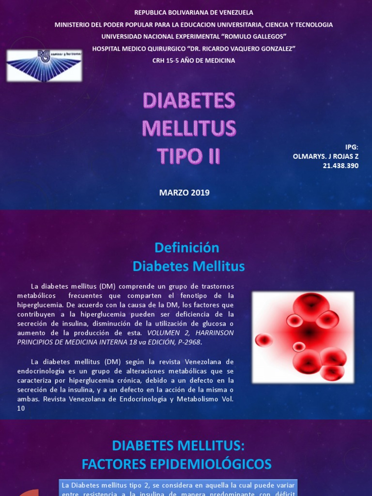 diabetes mellitus tipo 2 definición médica