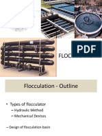 Flocculation design