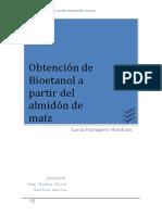 Obtención de Bioetanol a Partir Del Almidón de Maíz