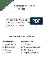 Administración de Minas