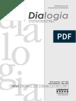 Revista Dialogia Uninove Avaliação