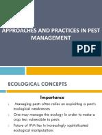 Ecological Concept of Pest Management