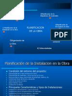 PLANIFICACIÓN DE OBRA CONSTRUCCIÓN I.ppt