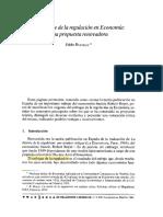 Bustelo (1994) El Enfoque de La Regulación
