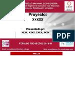 PPT Feria Proyectos