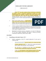 JV Contract Checklist