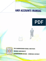 FInance and Accounts Manual