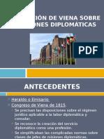 Convención de Viena Sobre Relaciones Diplomáticas y Consulares 2017