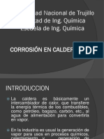 Corrosion en Calderas
