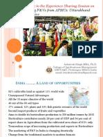Presentation by Professor Ashutosh Singh