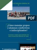 Como Manejar Grupos Conflictivos