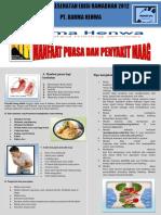 Buletin Kesehatan Edisi Ramadan