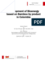 Identify the major sources of biomass in Colombia