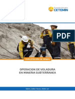 Operacion de Voladura en Mineria Subterranea - (Em)