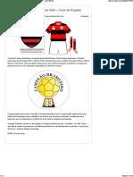 1º Scudetto- Brasileirão de 1984 – Clube de Regatas Flamengo » História Do Futebol