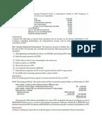 Task Intermediate Acct 1 Chp4