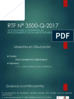 RTF N° 3500-Q-2017