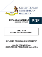 1) Dmd 4113 - Automotive Management