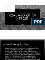 Rizal and Other Heroes