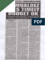 Peoples Journal, June 24, 2019, Romualdez eyes timely budget ok.pdf