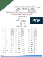 Problemas Propuestos de Potenciacion y Radicacion I Ccesa007