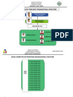 Badac Auxiliary Team Org. Structure