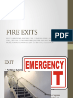 Fire Exits - Mark Edmine