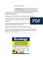 Ecology and Socie Cultural Anthroplogy Society