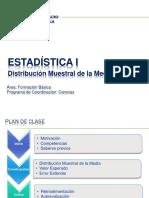 Estadistica I - Semana13 - Distribucion Muestral de La Media