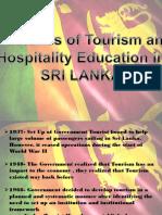 Sri Lanka Tourism Education
