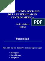 Implicaciones Sociales de La paternidad en Centroamérica