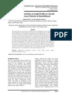 Dr Sanjay Impact of Malnutrition on Lipid Profile in Chronickidneydisease PDF