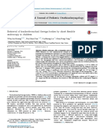 Retrieval of Tracheobronchial Foreign Bodies by Short Flexible(DR ADELIEN)
