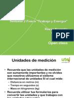 Presentación Utel Semana2 Trabajo y Energia