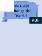 we can change the world