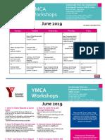 Scarborough Finch Ave YMCA Centre Calendar