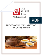 The Growing Popularity of Tea Cafes in India